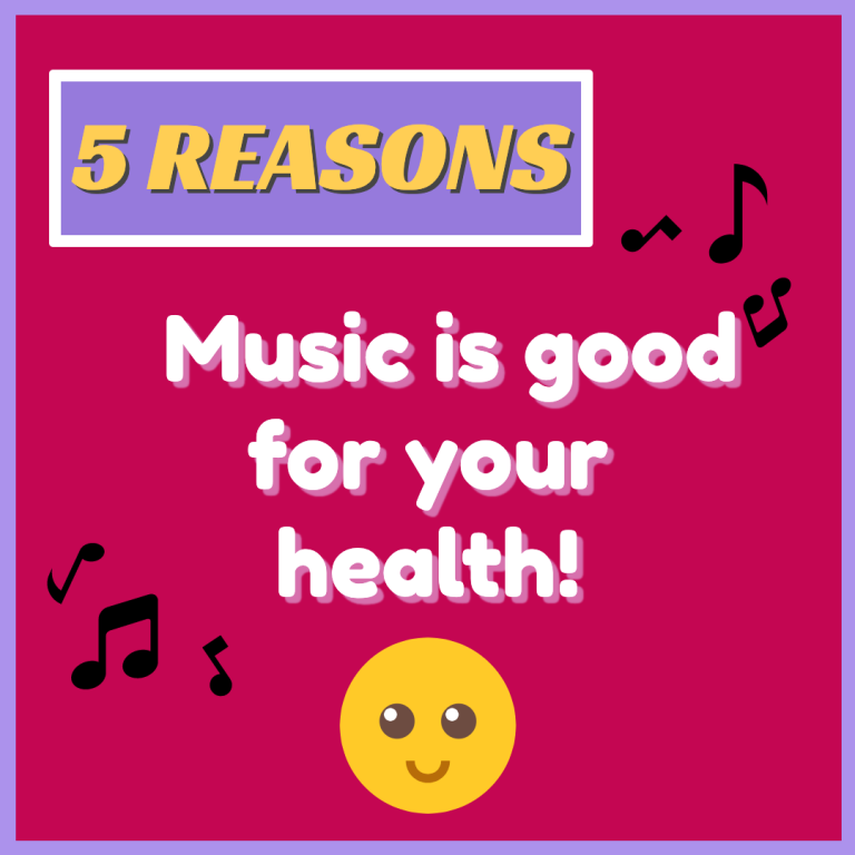 Music is Good for your Health